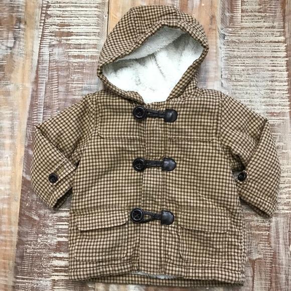 a51f6425e4da Baby Winter Coat With Fluffy Lining